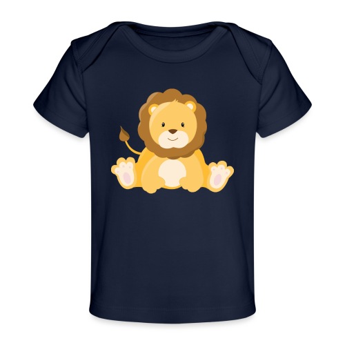 SAFARI Löwe - Baby Bio-T-Shirt