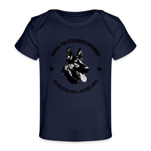 Svendborg ph sort - Økologisk T-shirt til baby