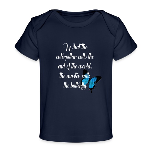 The butterfly - Organic Baby T-Shirt