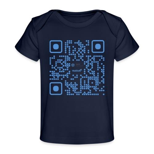 QR Maidsafe.net - Organic Baby T-Shirt