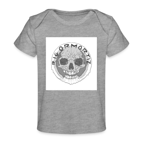 RIGORMORTIZ BOLD LOGO - Organic Baby T-Shirt