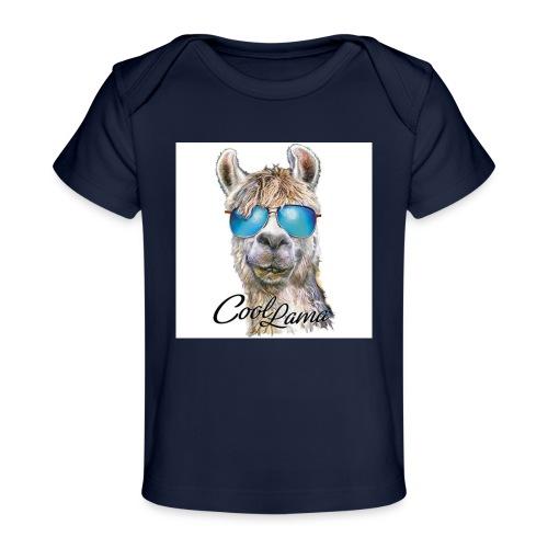Cool Lama - Baby Bio-T-Shirt