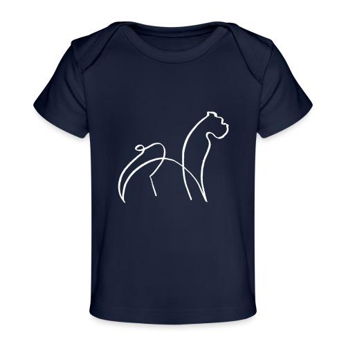 randy sinfondo blanco - Camiseta orgánica para bebé