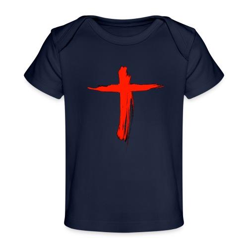 the cross - Camiseta orgánica para bebé