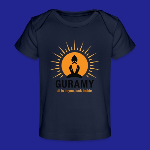 final nero con scritta - Organic Baby T-Shirt
