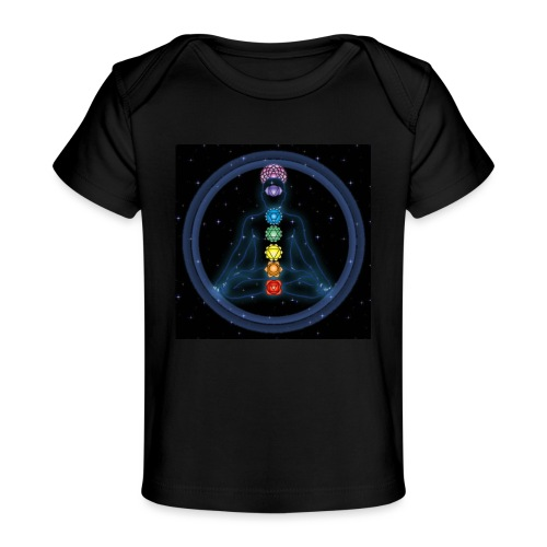 OmChakraInspirationMeditation - Baby Bio-T-Shirt