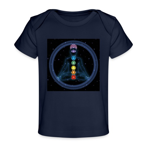 OmChakraInspirationMeditation - Baby Bio-T-Shirt