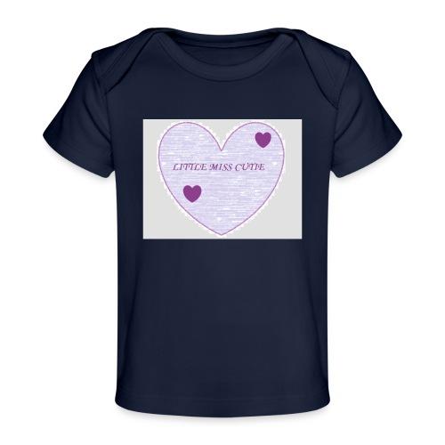 Little_miss_cutie_4 - Baby bio-T-shirt