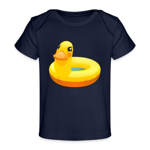 Rubber duck - bio - Baby bio-T-shirt