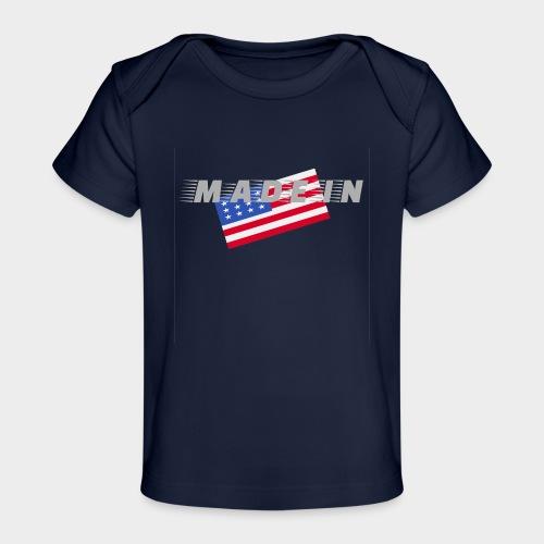 Made In USA - Organic Baby T-Shirt