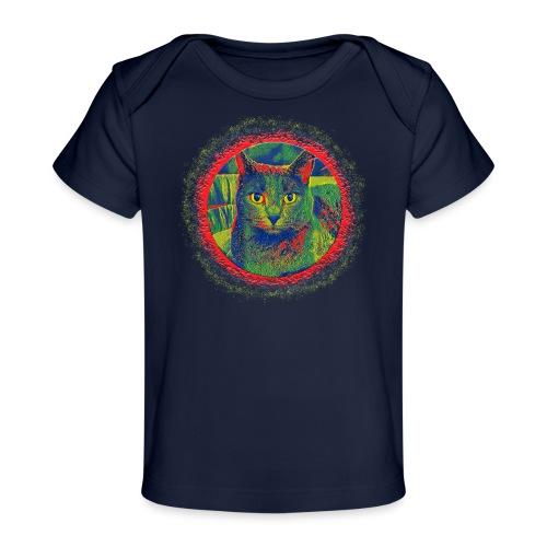CAT ART AMERA - Baby Bio-T-Shirt