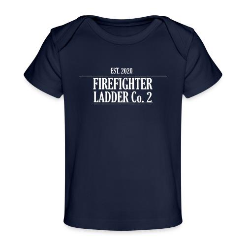 Firefighter Ladder Co. 2 - Økologisk T-shirt til baby