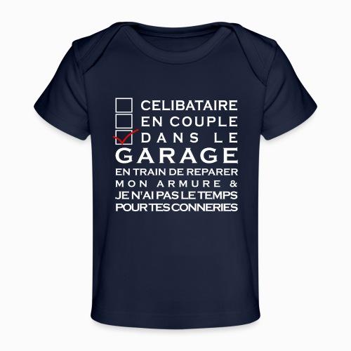 Celibataire en couple etc - T-shirt bio Bébé