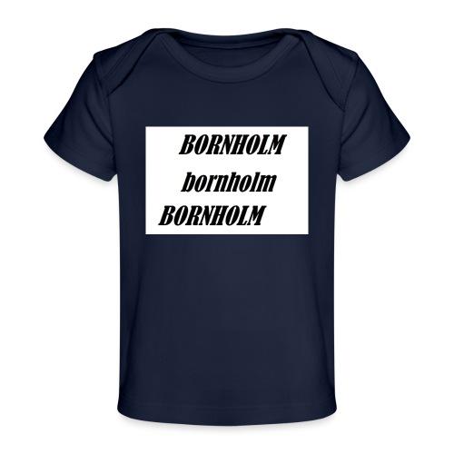 Bornholm Bornholm Bornholm - Økologisk T-shirt til baby