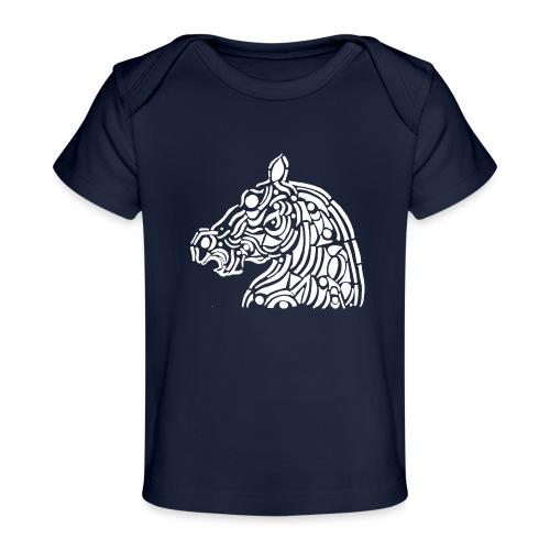 horse - cheval blanc - T-shirt bio Bébé