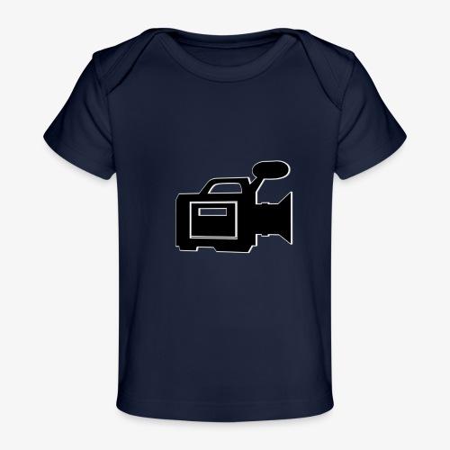 camera - Økologisk T-shirt til baby