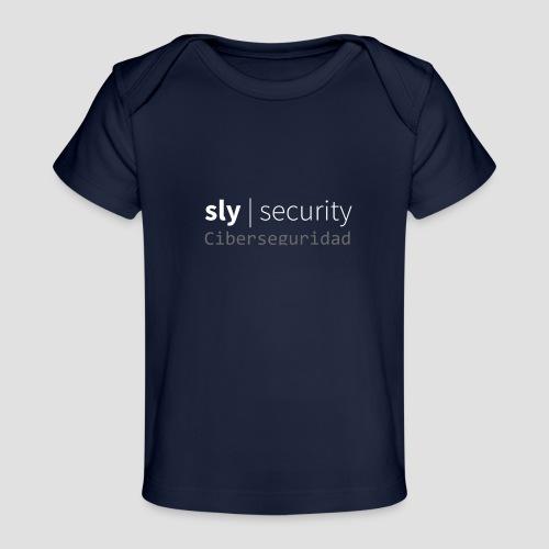 Sly Security   Ciberseguridad - Camiseta orgánica para bebé