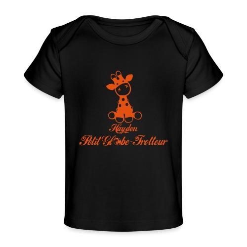 Hayden petit globe trotteur - T-shirt bio Bébé