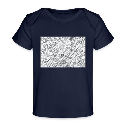 Doodle - Ekologiczna koszulka dla niemowląt
