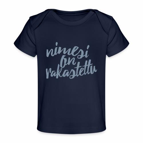 Paitaprintti - Vauvojen luomu-t-paita