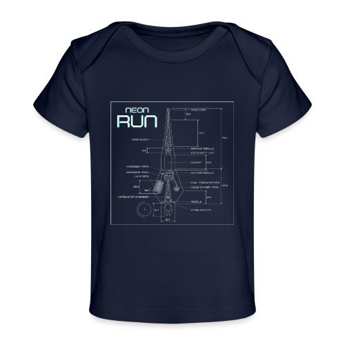 NeonRun - Baby bio-T-shirt