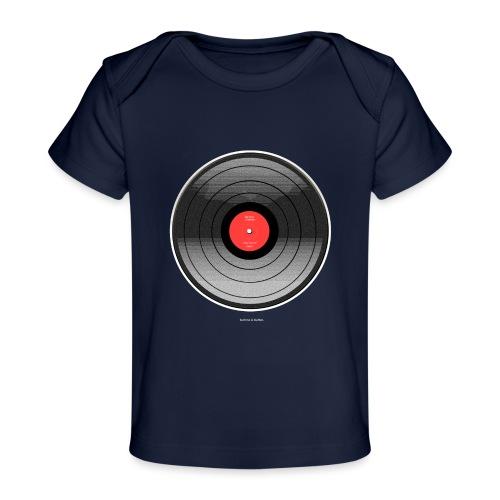 Vinyl Sunrise - Ekologiczna koszulka dla niemowląt