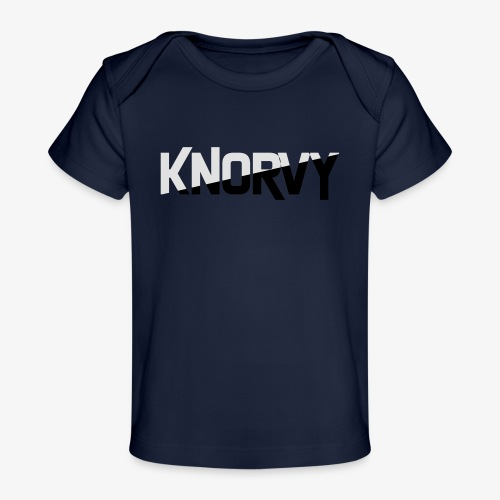 KNORVY - Baby bio-T-shirt