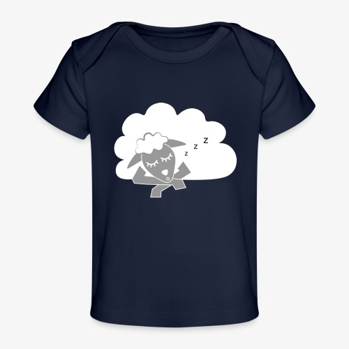 Sleeping Sheep - Organic Baby T-Shirt