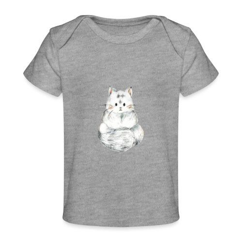 Chat - T-shirt bio Bébé