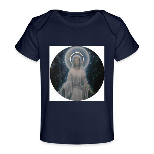 圣母玛利亚 Notre Dame by Jean Libon - T-shirt bio Bébé