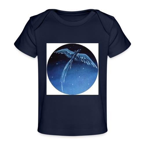 Oiseau Bleu 1 - T-shirt bio Bébé