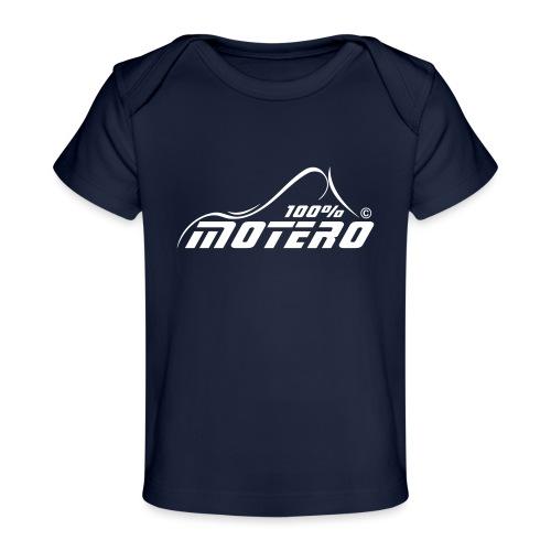 100% Motero - Camiseta orgánica para bebé