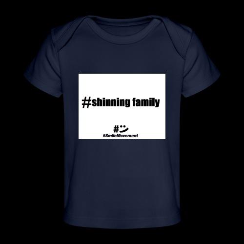 shinning family - T-shirt bio Bébé
