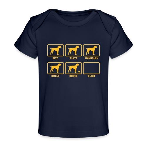 Für alle Hundebesitzer mit Humor - Baby Bio-T-Shirt