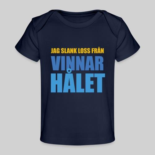 jag slank loss fran vinnarhalet - Ekologisk T-shirt baby