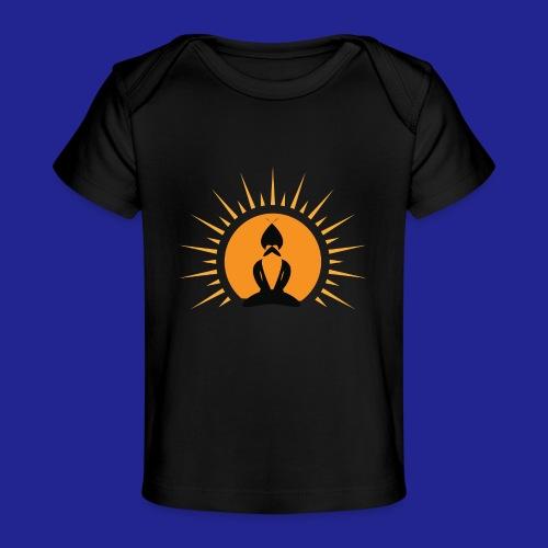 Guramylyfe logo no text black - Organic Baby T-Shirt