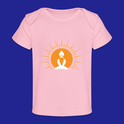 Guramylyfe logo white no text - Organic Baby T-Shirt