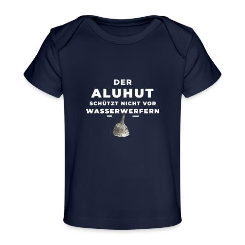 Aluhut und Wasserwerfer - Baby Bio-T-Shirt