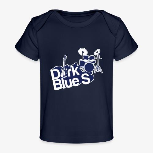 DarkBlueS outline gif - Organic Baby T-Shirt