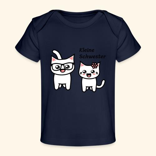 Kleine Schwester - Baby Bio-T-Shirt