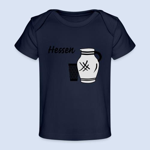 Hessen Bembel Geripptes - Baby Bio-T-Shirt