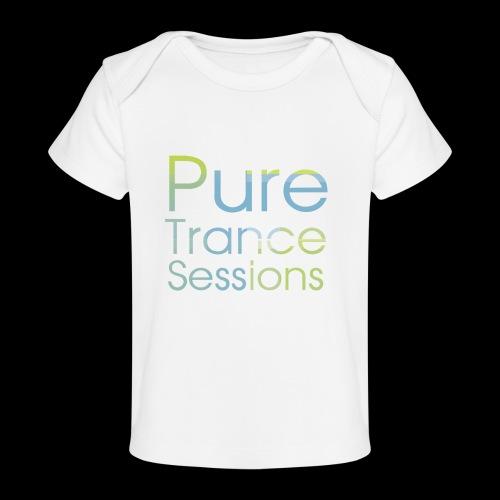PureTrance100 transparantGROOT kopie png - Organic Baby T-Shirt