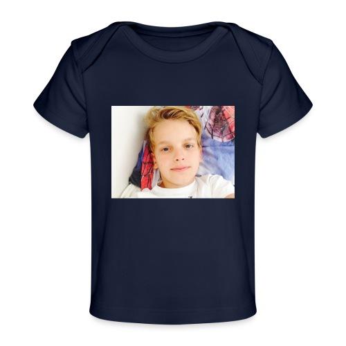first design - Økologisk T-shirt til baby