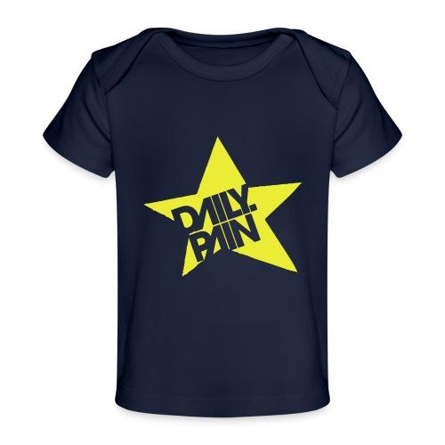daily pain star - Ekologiczna koszulka dla niemowląt