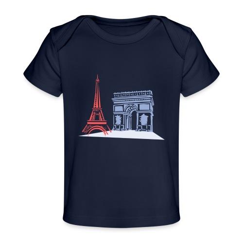 Paris - T-shirt bio Bébé