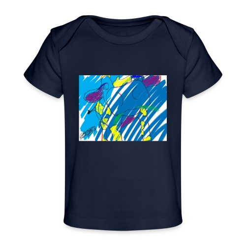 Signed Rainbow Cow - Organic Baby T-Shirt