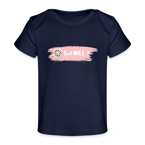Got MILF Milfcafe Shirt Mama Muttertag - Baby Bio-T-Shirt