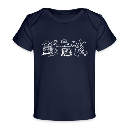 fahrenessenschrauben - Baby Bio-T-Shirt