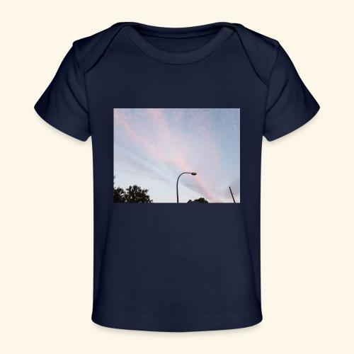 Abendhimmel - Baby Bio-T-Shirt