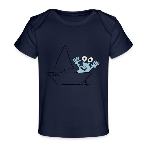 Segelmonster Sylt - Baby Bio-T-Shirt
